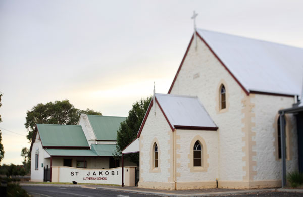 St. Jakobi Church & School, present day.